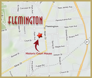 Flemington Map